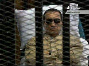 Hosni Moubarak,l'ancien président égyptien, condamné à une peine de prison à vie dans International Hosni-300x221