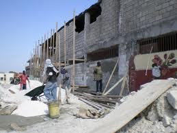 Reconstruction d'Haiti dans Alerte